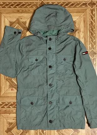Детская ветровка куртка tommy hilfiger(оригинал)р.152