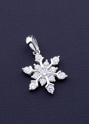 Кулон фианит (серебро(925)) 0717550