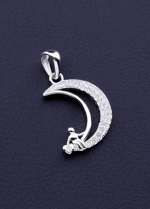 Кулон фианит (серебро(925)) 0717580