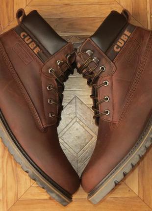Новые!непромокаемые зимние ботинки cube ecco{оригинал}р.45
