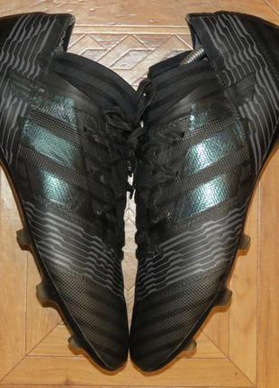Бутсы футзалки сороконожки adidas nemeziz messi{оригинал}р.46