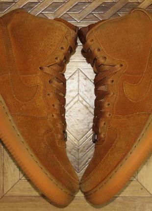 Замшевые кроссовки nike air force 1 {оригинал}р.40