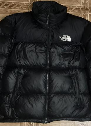 Зимний пуховик парка the north face nuptse{оригинал}р.s-m