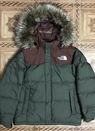 Зимний пуховик парка the north face hy vent{оригинал}р.s-m