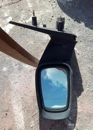 Левое боковое зеркало Рено Лагуна 2 заднего вида оригинал