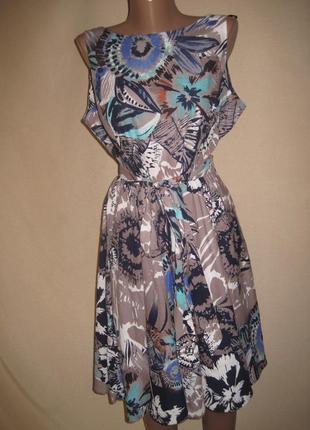 Натуральное платье wallis р-р14