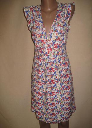 Вискозное платье f&f р-р14