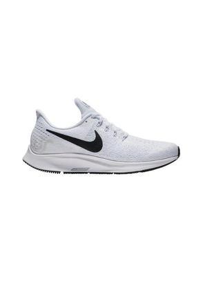 Кроссовки nike air zoom pegasus 35 running shoes white/black a...