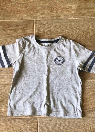 Lupilu реглан пайта футболка для мальчика 2-4года