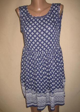 Вискозное платье new look р-р10