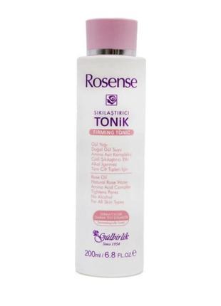 Тоник для лица rosense с розовой водой