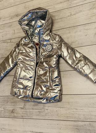 Модная курточка на девочку 6 лет