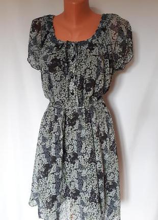 Шифоновое платье b.younq ( размер 40-42)