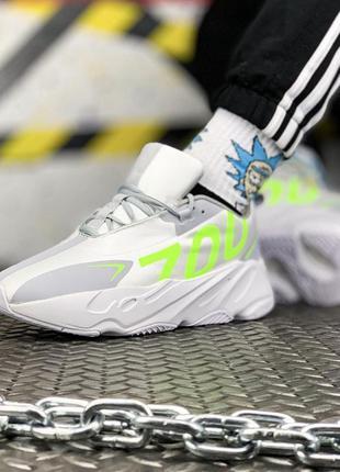 Мужские демисезонные кроссовки адидас adidas yeezy boost 700 w...