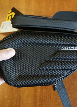 Нарамная сумка CoolChange, велосумка на раму велосипеда