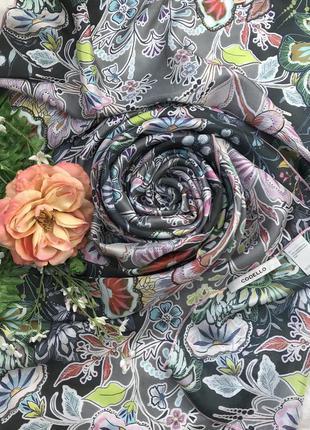 Новый ♥️😎♥️ шелковый шарф палантин из шёлка codello.