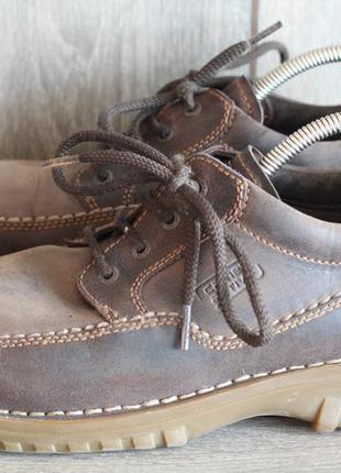 Мужские туфли camel active натуральная кожа