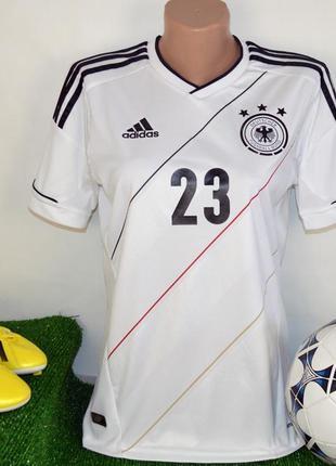 Брендовая спортивная футболка сборной германии adidas climacoo...