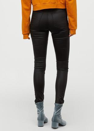 Джинсы skinny hm джинсы под кожу скинни h&m 36