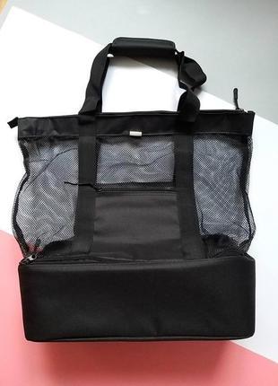 2 в1: пляжная сумка и кулер сумка холодильник