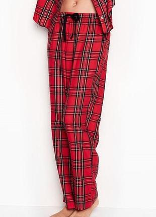 Хлопковая пижама victoria secret фланелевая пижама victorias s...