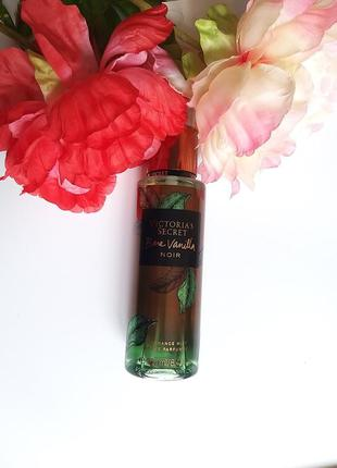 Спрей мист victorias secret bare vanilla noir