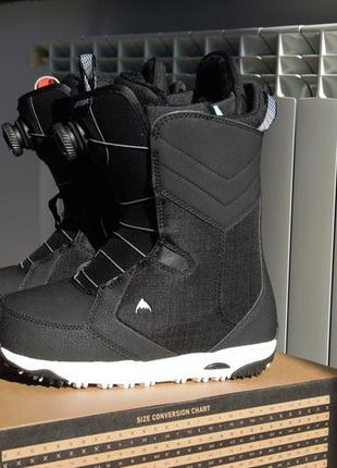 Сноубордические ботинки burton 37 размер сапоги для сноуборда