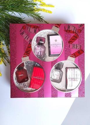 Подарочный набор  мини-парфюмчиков от victoria's secret