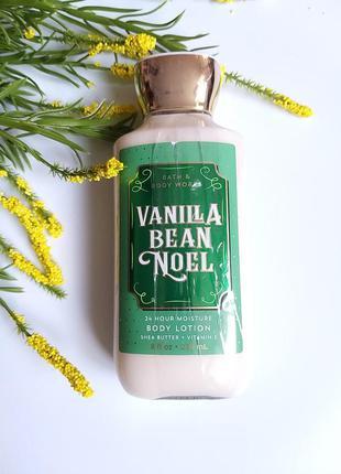 Увлажняющий лосьон для тела bath and body works vanilla bean noel