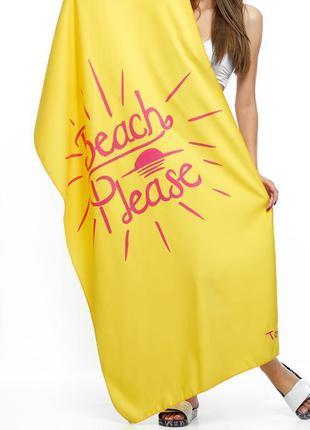 Пляжное полотенце из микрофибры