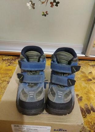 Продам детские зимние ботинки bartek 26 размер