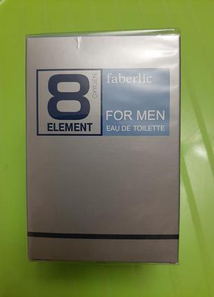 Туалетная вода 8 элемент. faberlic 8 element
