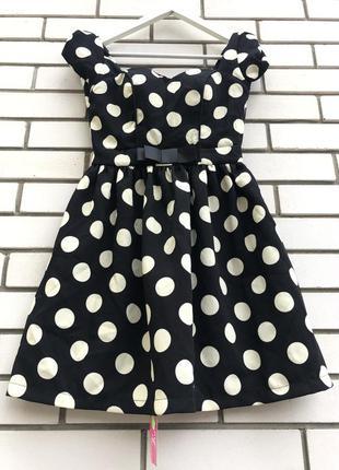 Новое платье в горошек в ретро стиле