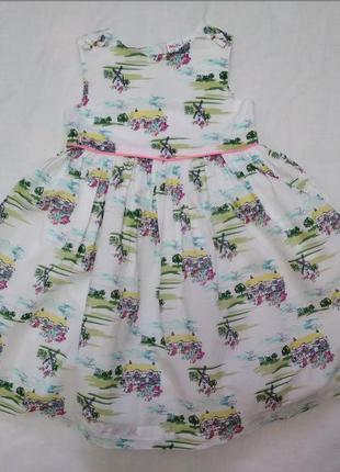 Платье mini klub на р 92-98 см 2-3 года