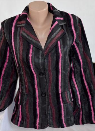 Брендовый пиджак жакет блейзер италия акрил