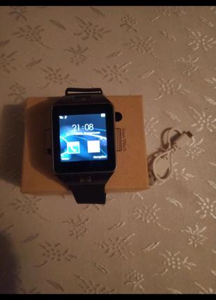 СРОЧНО, продам Б/У Смарт-часы Smart Watch DZ09 Original!