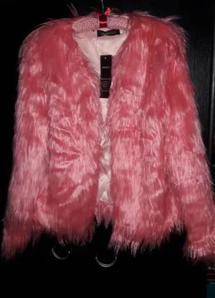 Курточка женская из искусственного меха