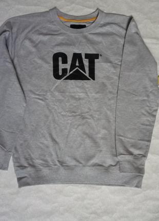 Мужской свитшот hoodie caterpillar lightweight crew neck  ориг...