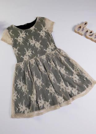 Платье на 8-9 лет, рост 128-135 см