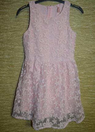 Нарядное нежное платье next