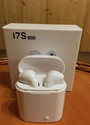 Продам безпроводні навушники I7S