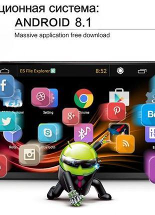 Магнитола 2Din Android Tian-Su 8227PRO 2Гб/32Гб, GPS Wi-Fi ,Bt...