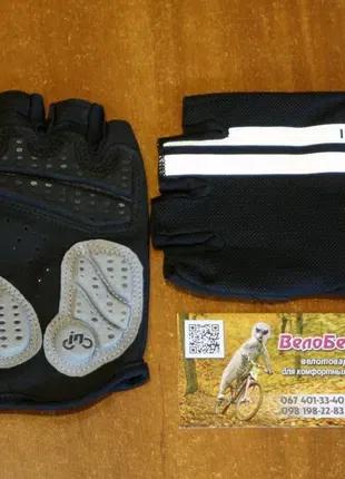 Перчатки велосипедные INBIKE с гелевыми вставками, велоперчатки