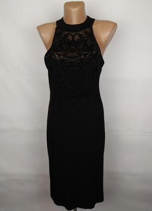 Платье стильное трикотажное boohoo uk 14/42/l