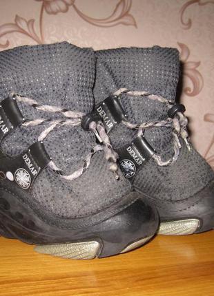 Ботинки зимние демар. размер 28-29. в хорошем состоянии!