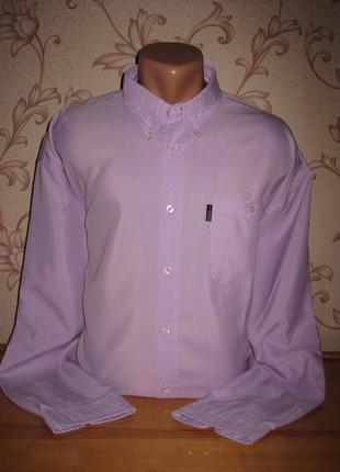 Рубашка мужская! размер ххl. в хорошем состоянии! basic.