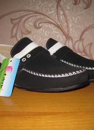 Туфли- макасины  для мальчика. размер 34. в отличном состоянии!!!