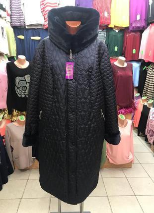 Куртка- пальто женская, зимняя. размер 50.в наличии!
