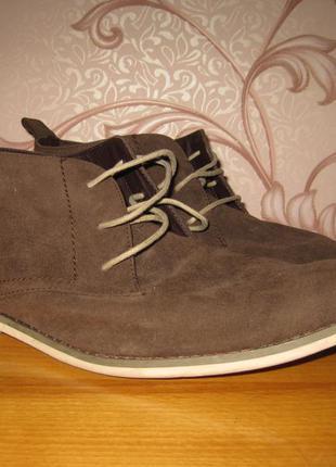 Мужские ботинки, демисезонные. размер  47 см. next. в отличном...