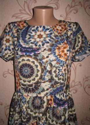 Платье женское. размер xl  (см. замеры). в отличном состоянии!...